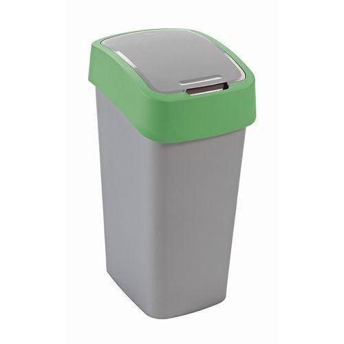 Curver Kosz do segregacji śmieci flip bin 50l zielony (3253922172066)