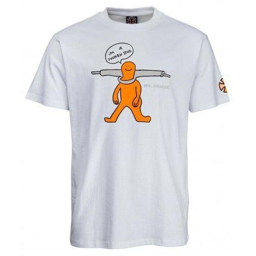 Koszulka - gonz stud tee white (white) rozmiar: l marki Independent