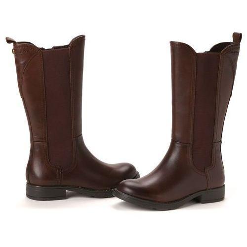 Geox buty dziewczęce 33 brązowy ()