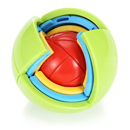 Ball style classic intelligent puzzle toy plastic 3d jigsaw wyprodukowany przez Gearbest