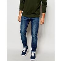 Lee Jeans Arvin Stretch Slim Tapered Fit Blue Legacy Mid Wash - Blue