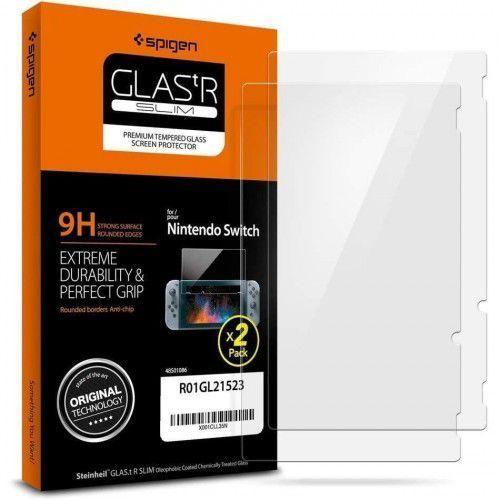 Szkło Hartowane Spigen Glas.Tr Slim 2-Pack Nintendo Switch, 54405 (12653761)