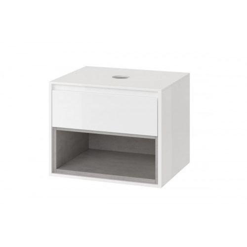 Excellent tuto szafka podumywalkowa 60, biały/beton mlex.0102.600.whco