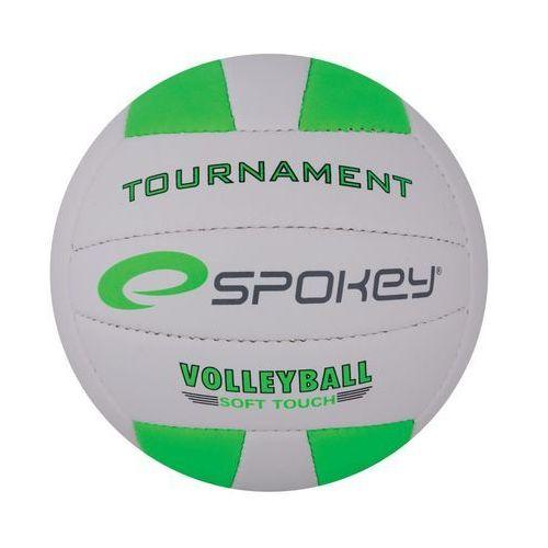 Piłka siatkowa SPOKEY 837382 Tournament II Biało-Zielony (rozmiar 5) - sprawdź w wybranym sklepie