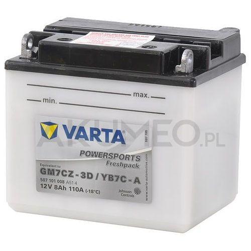 Akumulator VARTA Powersports YB7C-A 12V 8Ah 110A prawy+ oP (4016987127872)