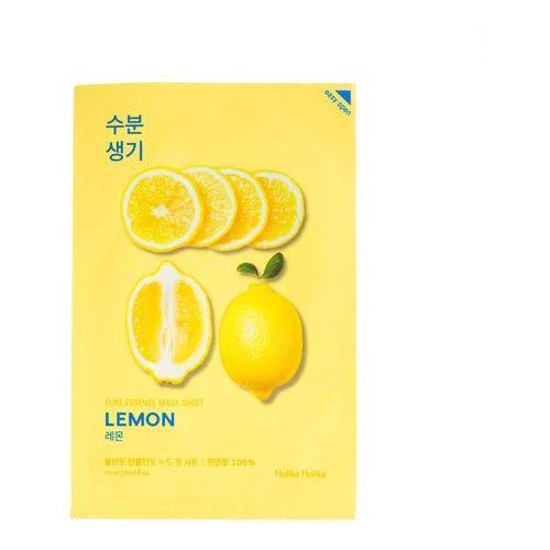 Holika Holika, Pure Essence Mask Sheet Lemon. Maska do twarzy w płacie - HOLIKA HOLIKA (8806334368111)
