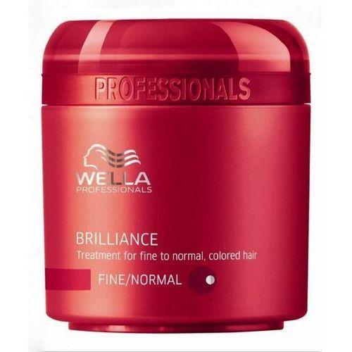 Wella  brilliance maska do cienkich włosów farbowanych (fine) - 150 ml (4015600115609)