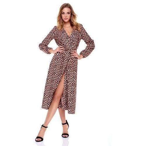 Sukienka marion w panterkę marki Sugarfree
