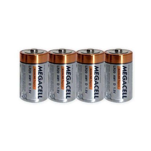 Camelion 4 x bateria alkaliczna megacell lr20 d