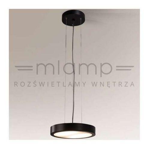 LAMPA wisząca NOMI 5538/2G11/CZ Shilo minimalistyczna OPRAWA zwis okrągły czarny, 5538/2G11/CZ
