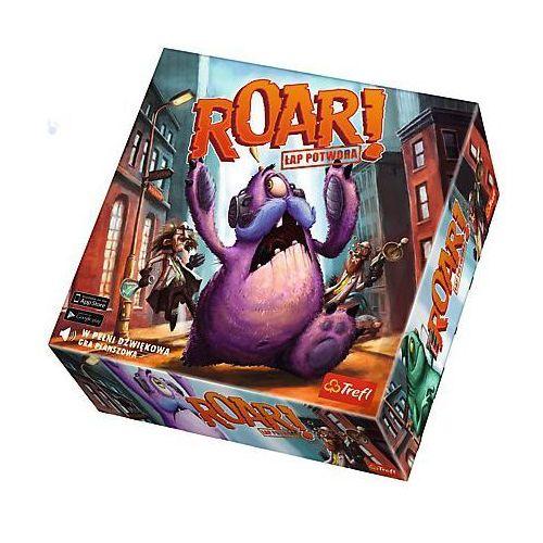 Trefl Gra roar! łap potwora dźwiękowa gra planszowa
