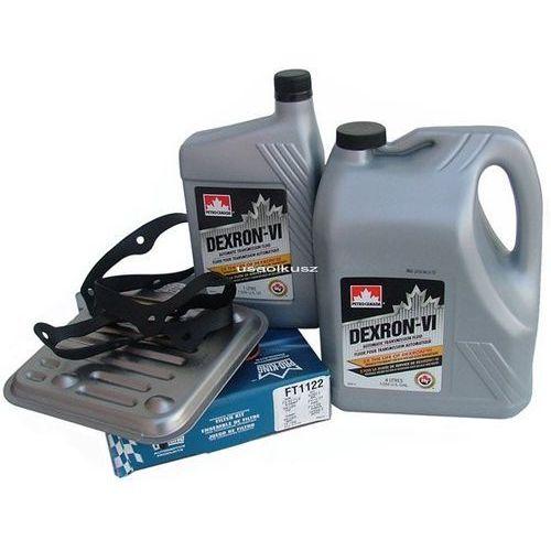 Petro-canada Filtr oraz olej dextron-vi automatycznej skrzyni biegów 4spd dodge caravan awd 2008-