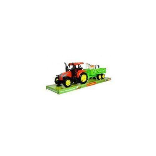 Swede Moje gospodarstwo - traktor z przyczepą i zwierz 2