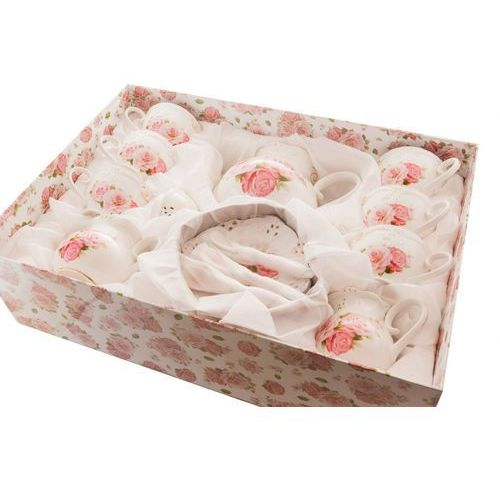 Fusaichi pegasus Serwis kawowy z porcelany do kawy herbaty róże
