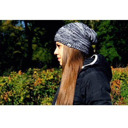 4f Czapka zimowa  cad010 szary jasny, kategoria: nakrycia głowy i czapki