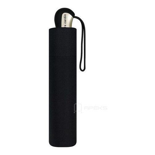 noire składany męski parasol mini tecmatic 56/10 marki Pierre cardin