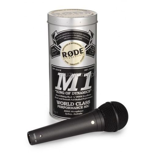 RODE M1 - mikrofon dynamiczny (mikrofon)