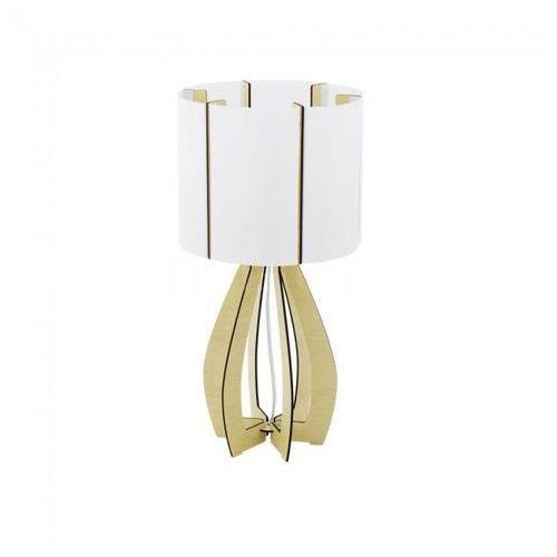 Eglo 94952 - lampa stołowa cossano 1xe27/60w/230v