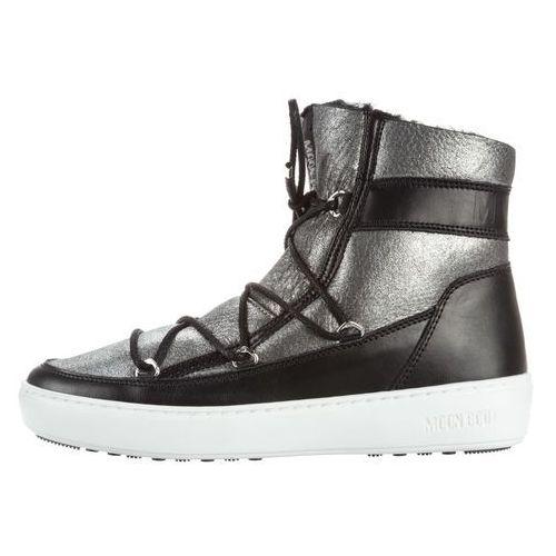 Moon Boot MB Pulse SH Snow boots Czarny Srebrny 36, kolor czarny