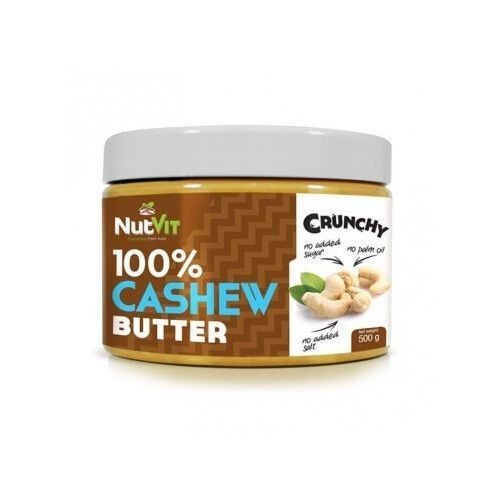 Ostrovit Nutvit 100% cashew butter crunchy 500g