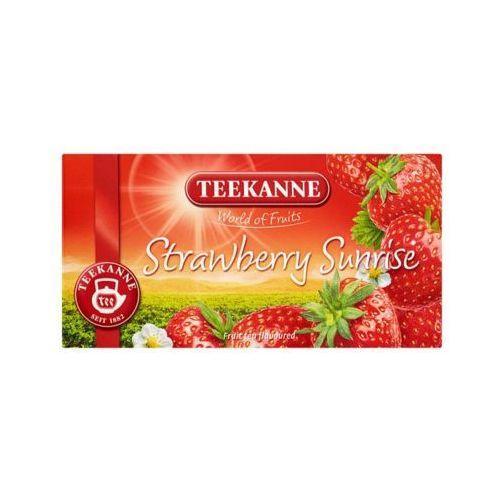 Teekanne 20x2,5g world of fruits strawberry sunrise herbata owocowa