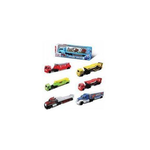 Metalowe ciężarówki z naczepą (0090159110217)