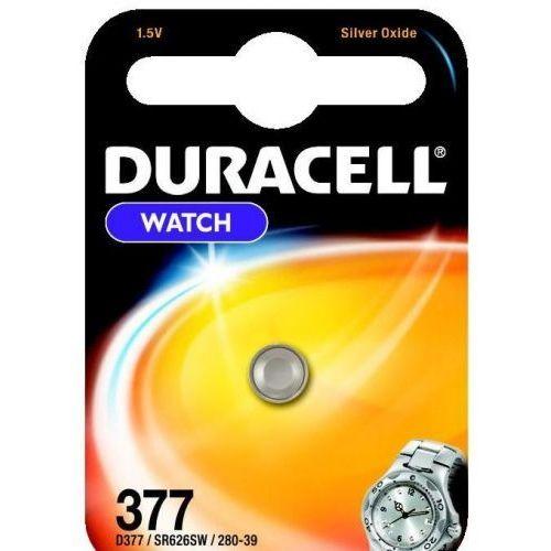 bateria srebrowa mini Duracell 377-376 / G4 / SR626SW, DUR63