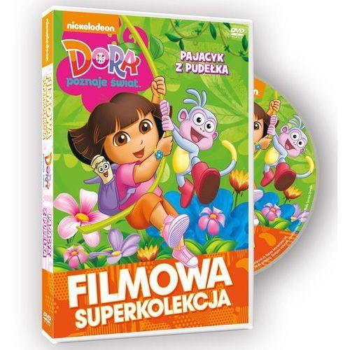 Dora poznaje świat. Filmowa superkolekcja. Pajacyk z pudełka - produkt z kategorii- Pakiety filmowe
