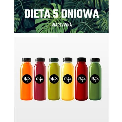 Nuja Dieta sokowa warzywa 5-dniowa / dieta sokowa / detoks sokowy