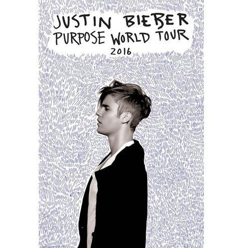 Justin Bieber Purpose World Tour - plakat