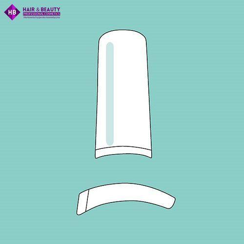PEGGY SAGE - 50 tipsy z zaostrzonym końcem - frosted clear - ( ref. 142710) - produkt z kategorii- Tipsy