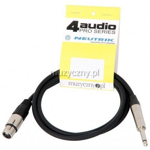 4Audio MIC2022 PRO 1,5m przewód niesymetryczny XLRż TS Neutrik - produkt z kategorii- Akcesoria muzyczne