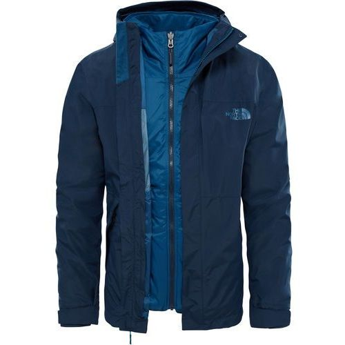 Kurtka The North Face Naslund Triclimate T937FIH2G, kolor niebieski