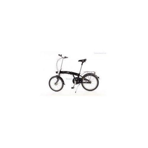Aluminiowy rower składany mifa 3-biegi shimano nexus czarny z prądnicą od producenta Mifa germany