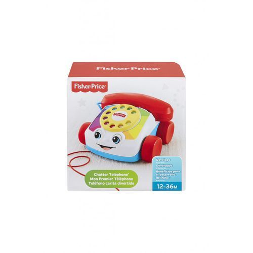 Fisher price Fisher-price telefonik dla gadułki (0887961168068)