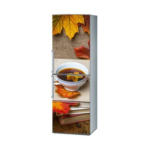 Mata magnetyczna na lodówkę - jesienna herbata 4182 wyprodukowany przez Stikero