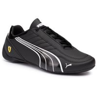 Sneakersy - sf future kart cat 306459 01 black/puma white/rosso corsa, Puma, 40.5-46