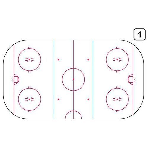 Wally - piękno dekoracji Tablica trenerska taktyczna suchościeralna 186 hokej