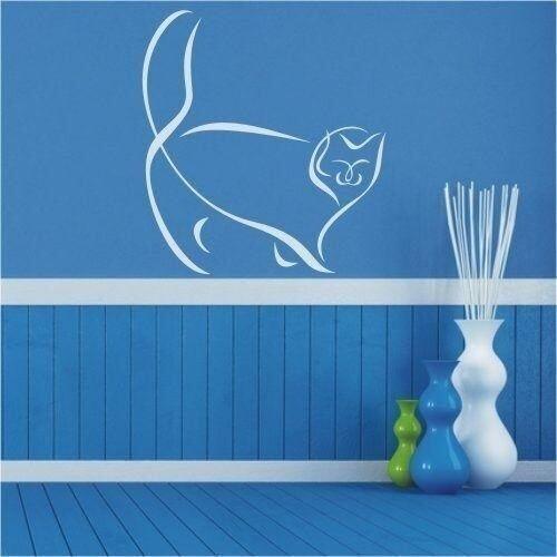 Naklejka kot 97 marki Wally - piękno dekoracji