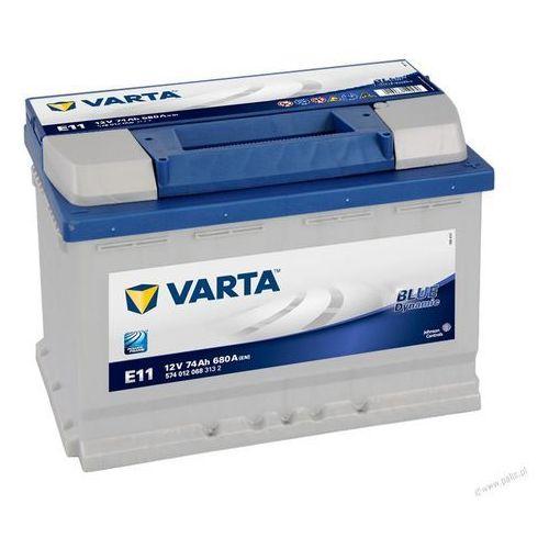 VARTA BLUE Dynamic E11 - 12V 74Ah 680A (EN) +P