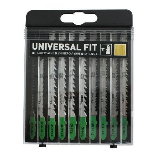 Zestaw brzeszczotów do drewna 10 szt. marki Universal