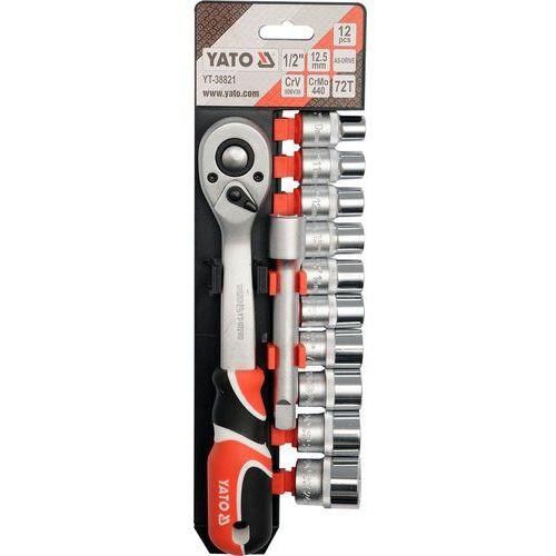 Yato Zestaw kluczy nasadowych 1/2'''' 12 części