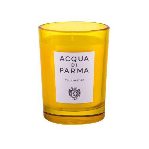 Acqua di parma oh. l´amore świeczka zapachowa 200 g unisex (8028713620027)