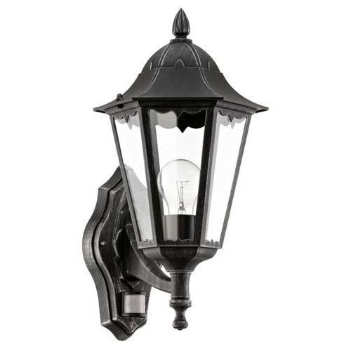 Eglo navedo lampa kinkiet sensor e27 1x60w 93458