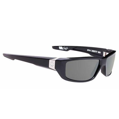 Okulary Słoneczne Spy DIRTY MO Polarized Black W/Signature-Happy Grey Green Polar, kolor zielony