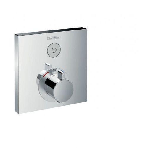Bateria Hansgrohe Hansgrohe showerselect bateria termostatyczna do 1 odbiornika podtynkowa, element zewnętrzny, kolor chrom 15762000 15762000
