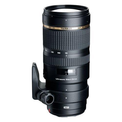 obiektyw 70-200 mm f/2.8 di vc usd (canon) + velbon monopod up-400 marki Tamron
