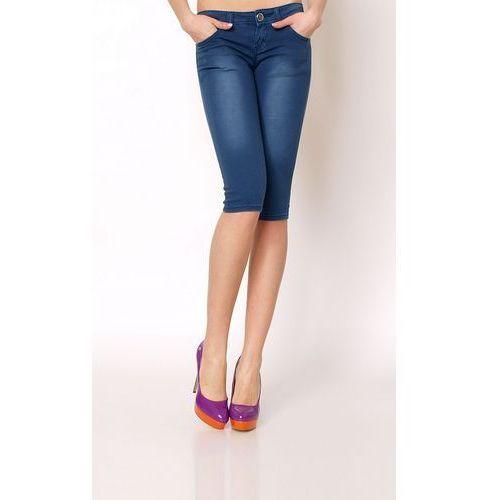 Rybaczki jeansy spodenki spodnie