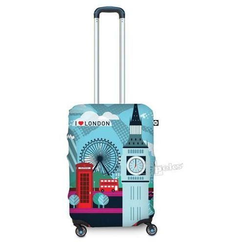 Bg berlin pokrowiec na małą walizkę / rozmiar s / london - london