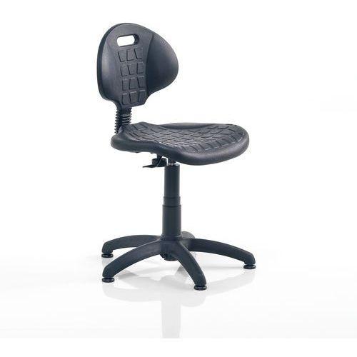 Krzesło warsztatowe Kilda niskie 420-540 mm czarny, 228781